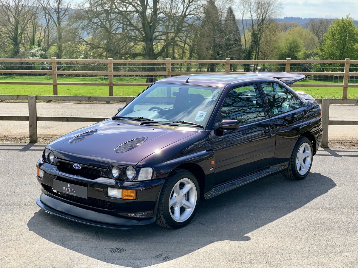 1996 Ford Escort RS Cosworth - 9,810 Miles & One Owner For Sale (picture 1 of 6)