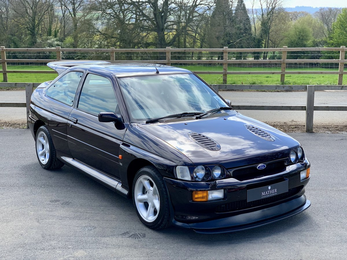 1996 Ford Escort RS Cosworth - 9,810 Miles & One Owner For Sale (picture 2 of 6)