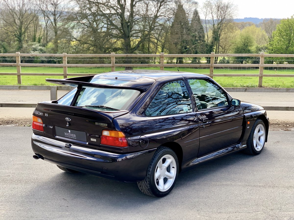 1996 Ford Escort RS Cosworth - 9,810 Miles & One Owner For Sale (picture 3 of 6)