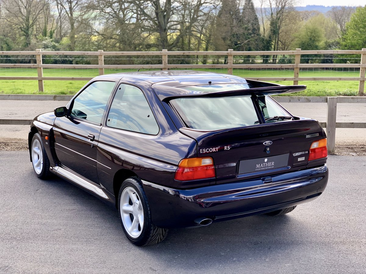 1996 Ford Escort RS Cosworth - 9,810 Miles & One Owner For Sale (picture 4 of 6)