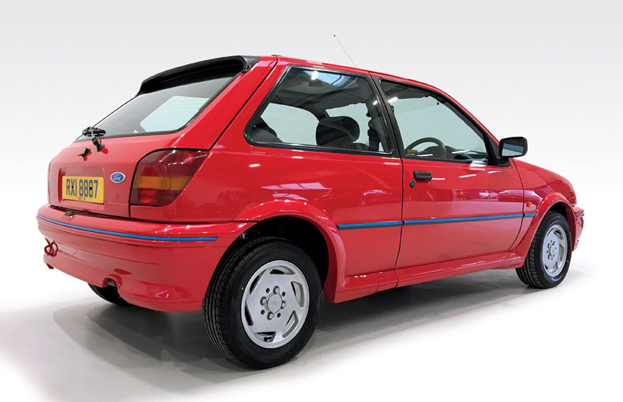 1990 Ford Fiesta XR2i DEPOSIT TAKEN SOLD (picture 2 of 6)