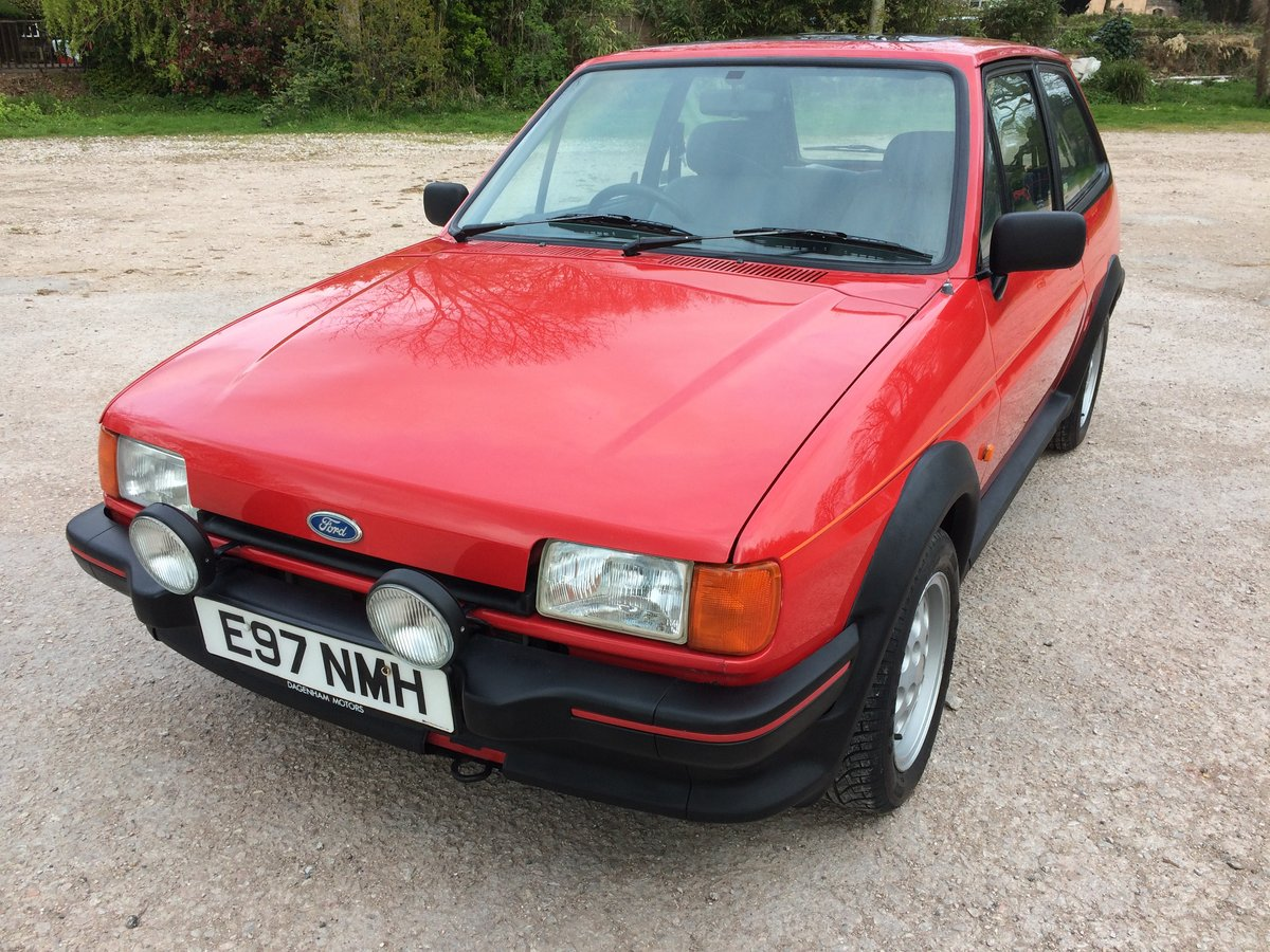 1987 FORD FIESTA XR2 58000 mile owned 30 years For Sale (picture 1 of 6)
