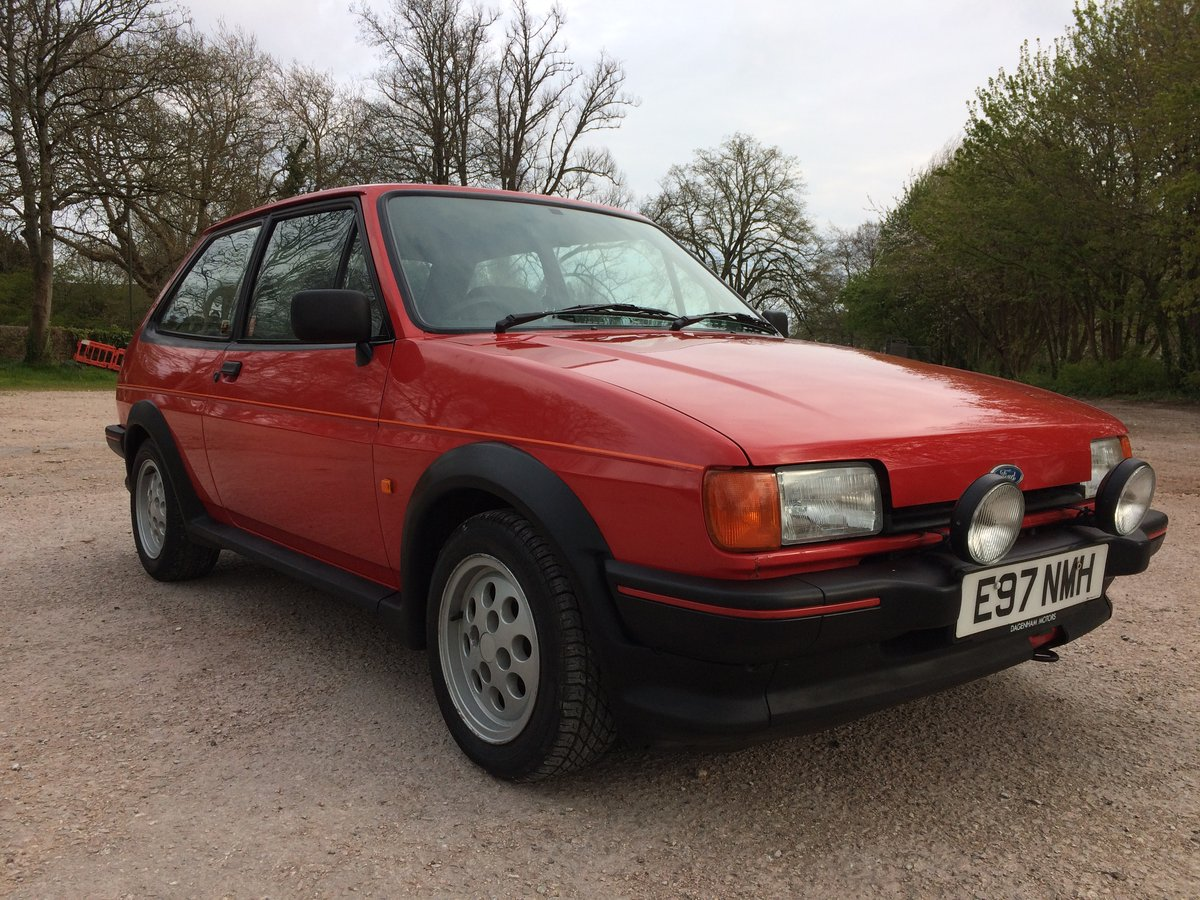 1987 FORD FIESTA XR2 58000 mile owned 30 years For Sale (picture 2 of 6)
