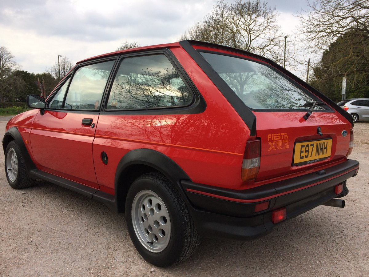1987 FORD FIESTA XR2 58000 mile owned 30 years For Sale (picture 3 of 6)