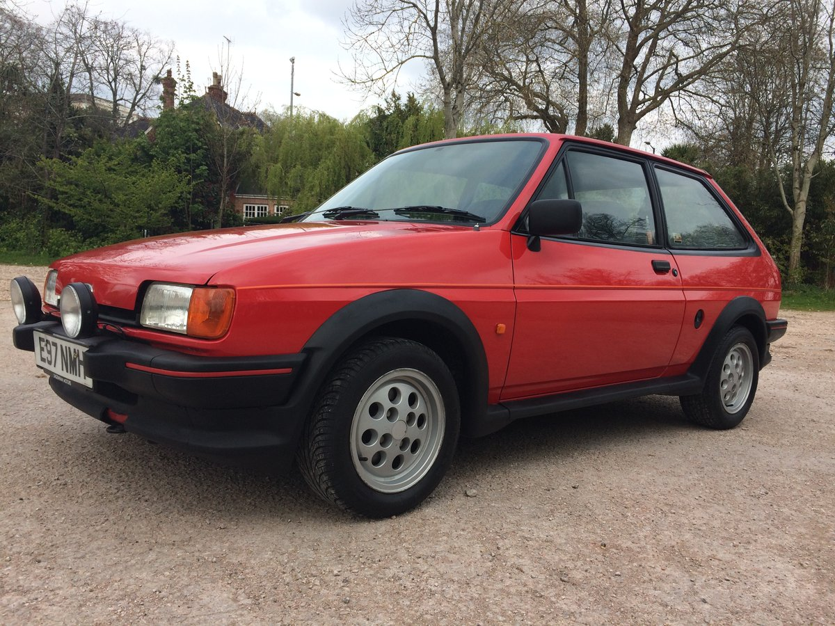 1987 FORD FIESTA XR2 58000 mile owned 30 years For Sale (picture 5 of 6)
