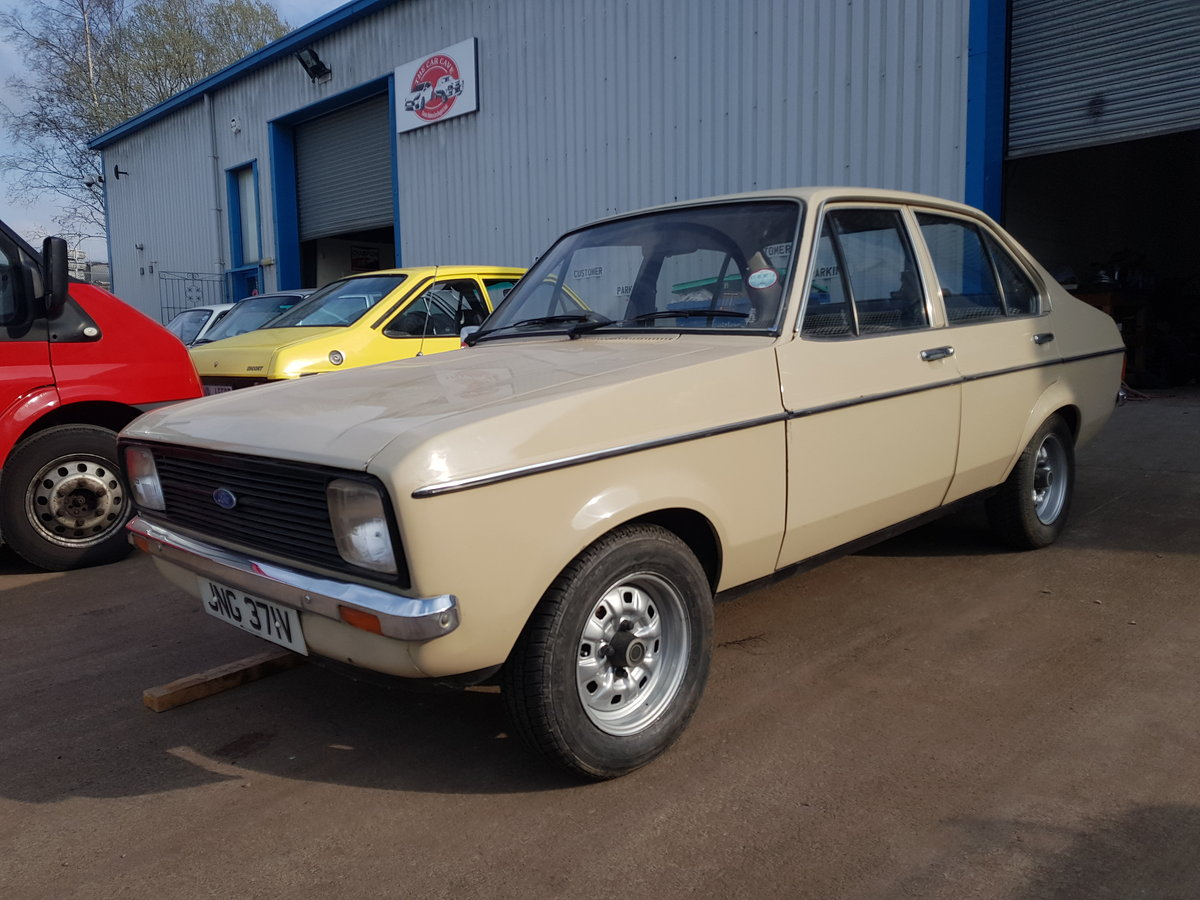1979 Ford Escort Mk2. 1 Owner - 9400 Miles From New For Sale (picture 1 of 6)