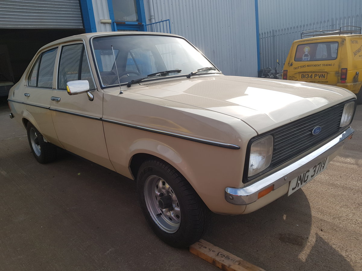 1979 Ford Escort Mk2. 1 Owner - 9400 Miles From New For Sale (picture 2 of 6)