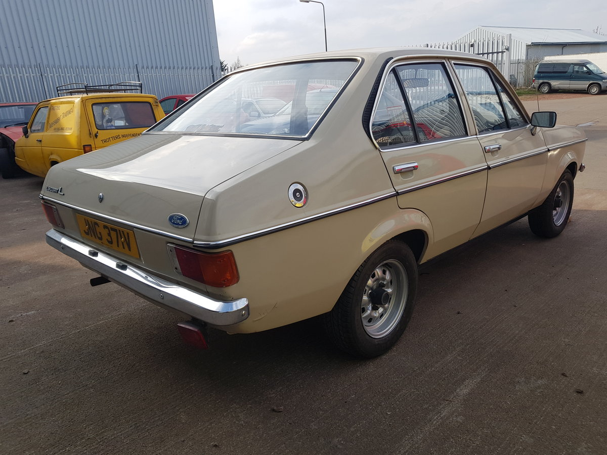 1979 Ford Escort Mk2. 1 Owner - 9400 Miles From New For Sale (picture 4 of 6)
