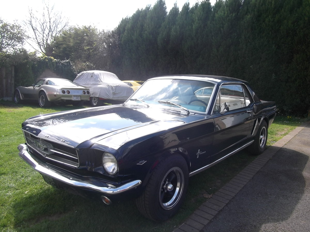 1965-Mustang-Coupe-289-V8-4-Speed-Manual SOLD (picture 1 of 6)