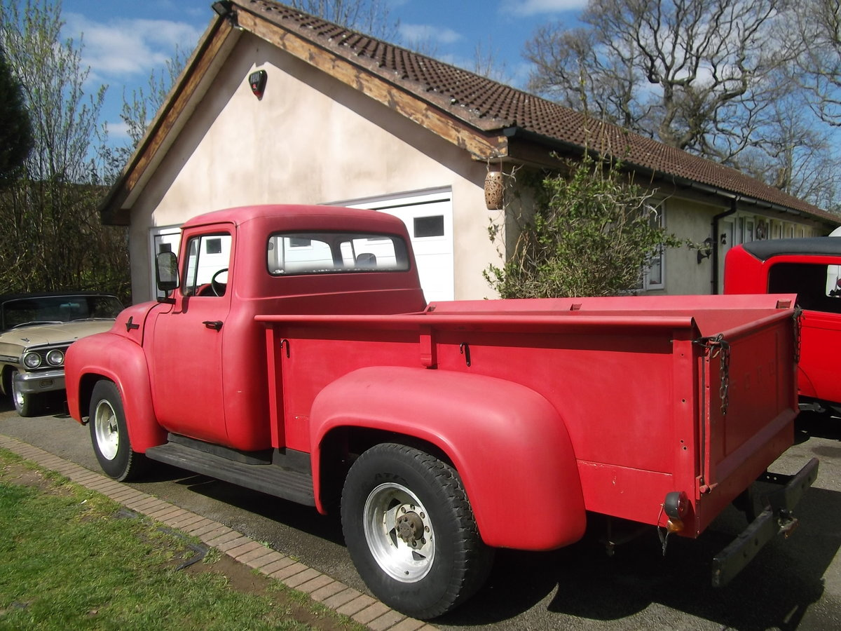 1956 Ford F250 Pick Up Truck, 390 V8, F100 Bigger Brother SOLD (picture 1 of 6)