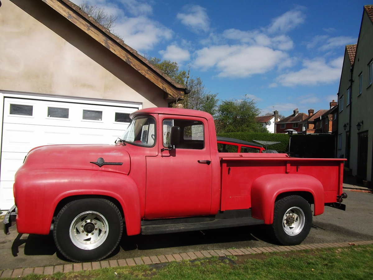 1956 Ford F250 Pick Up Truck, 390 V8, F100 Bigger Brother SOLD (picture 2 of 6)