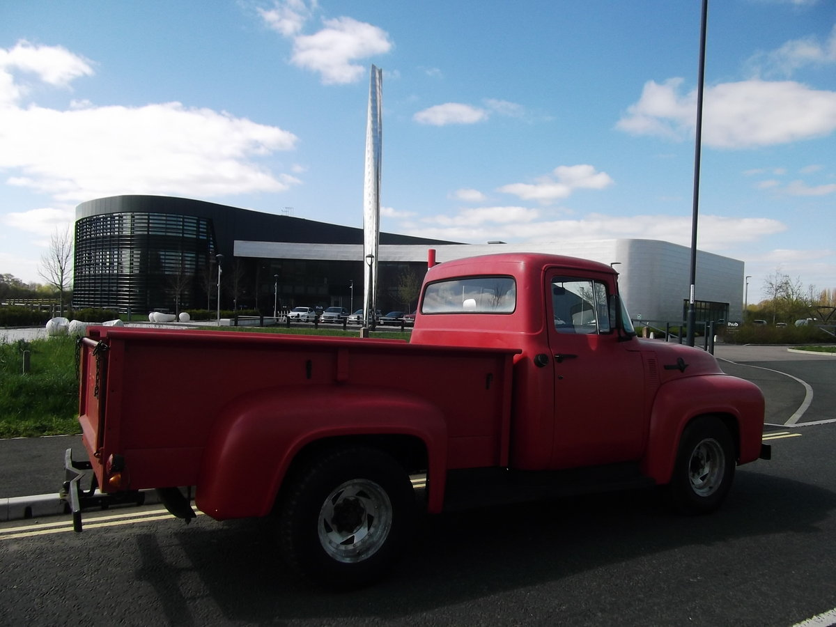 1956 Ford F250 Pick Up Truck, 390 V8, F100 Bigger Brother SOLD (picture 6 of 6)