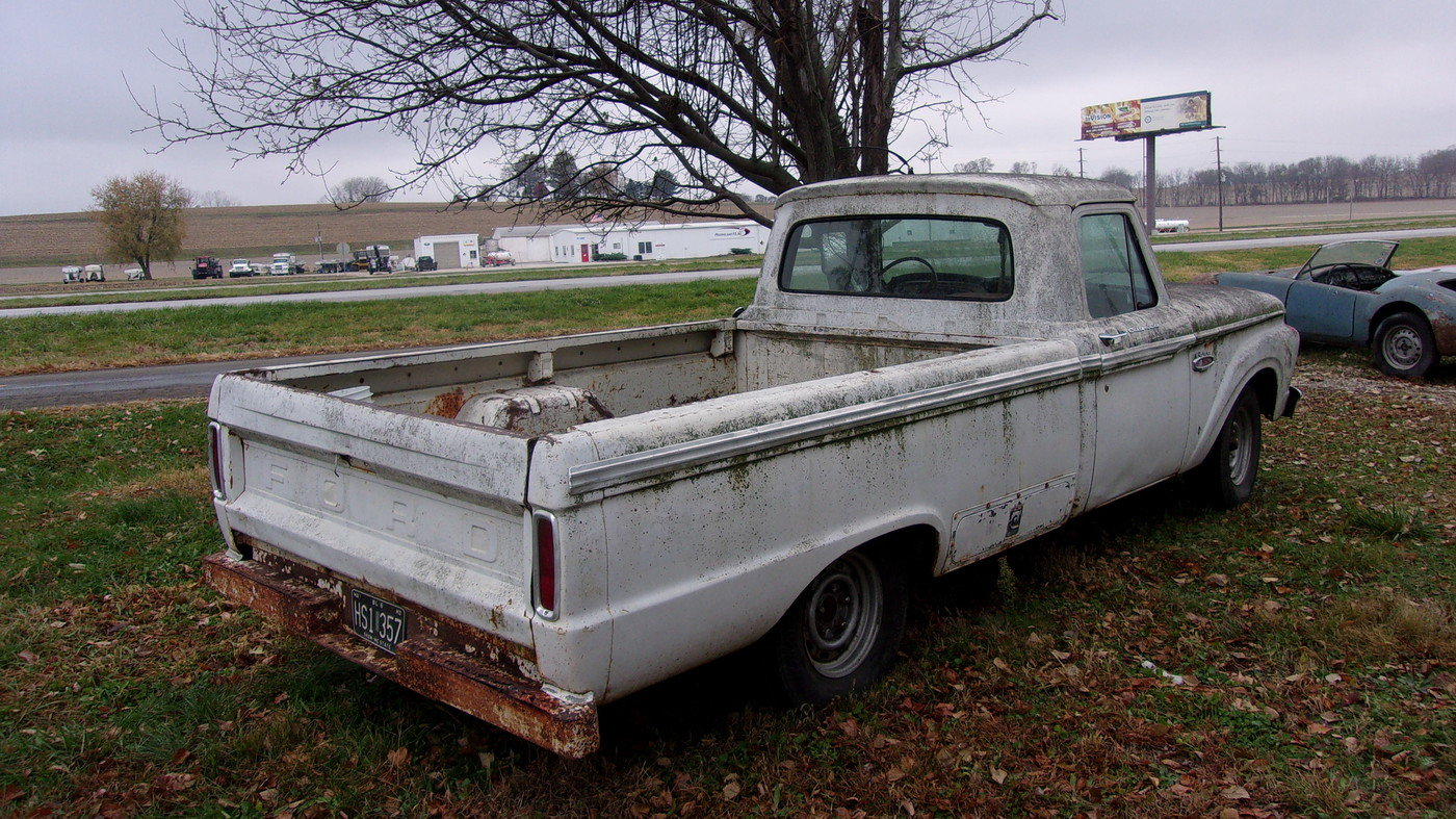 1966 Ford F100 Ranger Custom Cab LWB Pickup For Sale (picture 5 of 6)