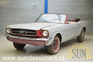 Ford Mustang 1965 to be restored For Sale