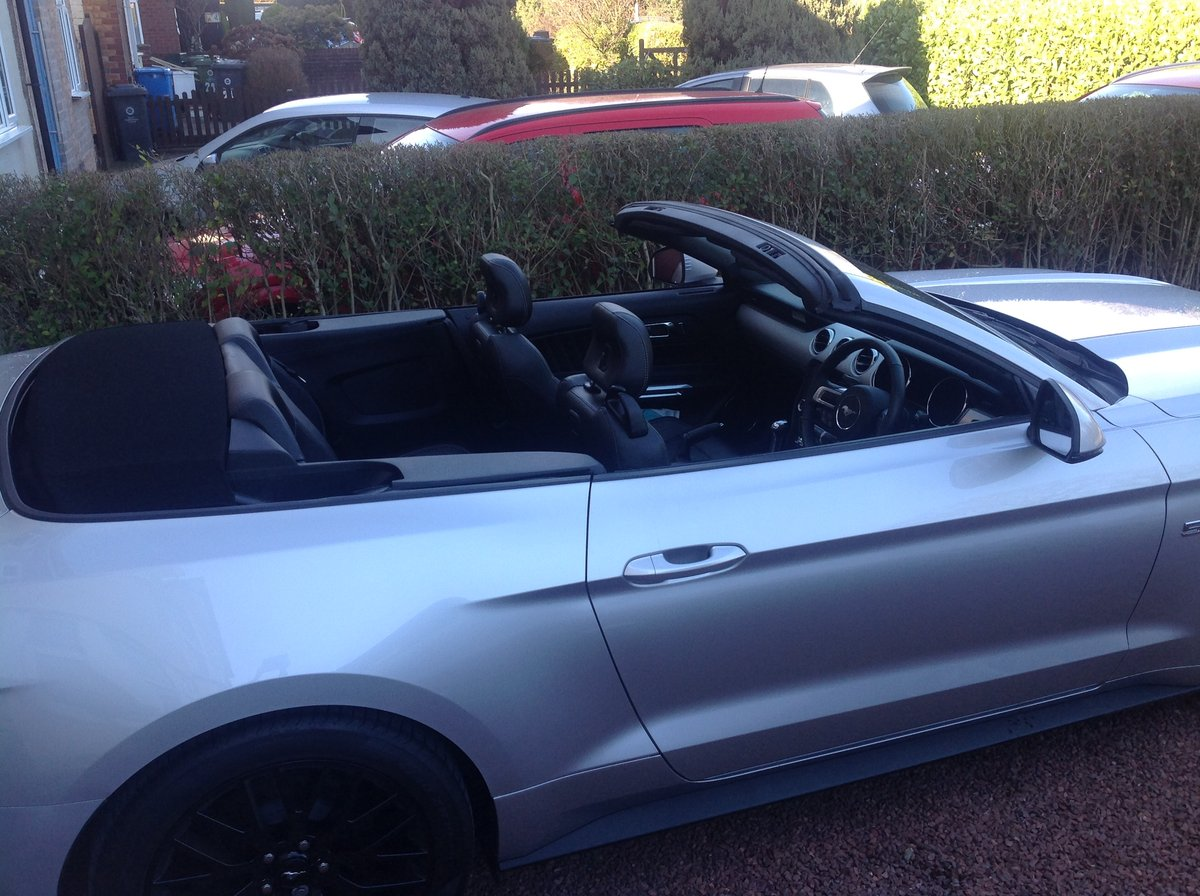 2018 Ford Mustang V8 convertible a classic since 1964 SOLD (picture 2 of 6)