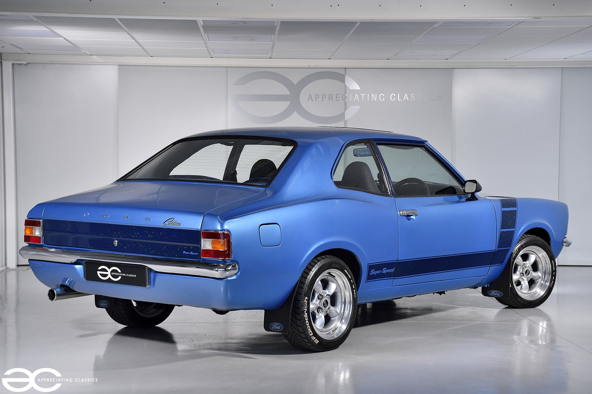 1972 An Extremely Rare Mk3 Cortina Super Speed - Essex V6 SOLD (picture 3 of 6)