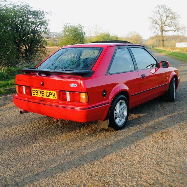 1988 Ford Escort Xr3i 9000 miles !!!! For Sale (picture 3 of 6)
