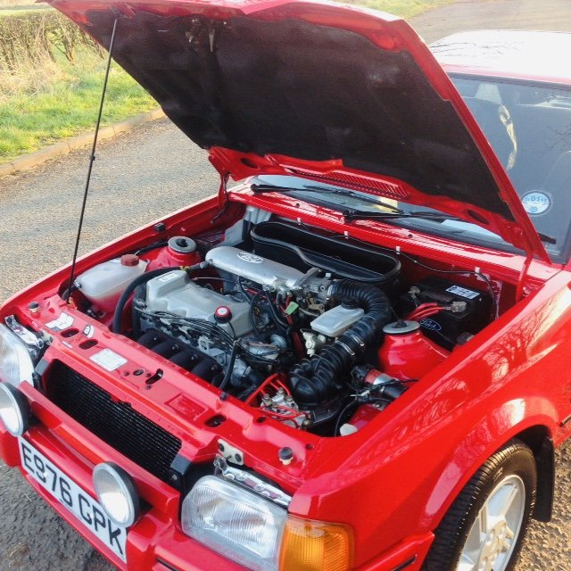 1988 Ford Escort Xr3i 9000 miles !!!! For Sale (picture 4 of 6)