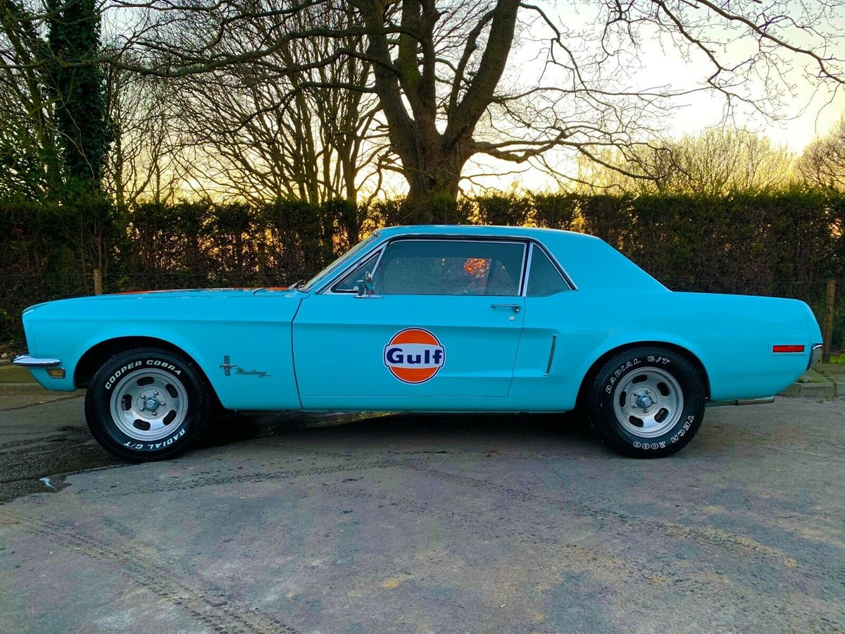 Ford Mustang 5.0L V8, 1968 302 - Gulf Racing, Show For Sale (picture 1 of 6)