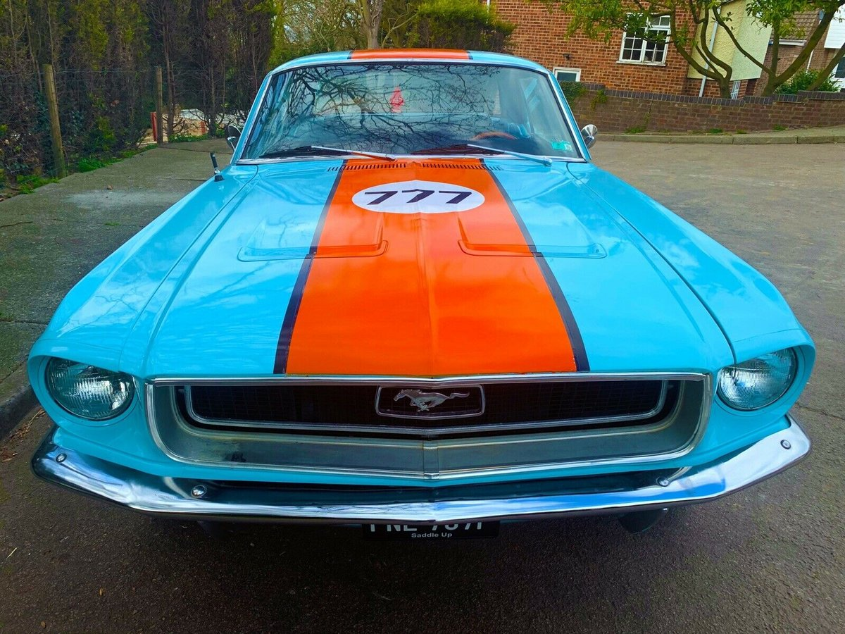 Ford Mustang 5.0L V8, 1968 302 - Gulf Racing, Show For Sale (picture 2 of 6)