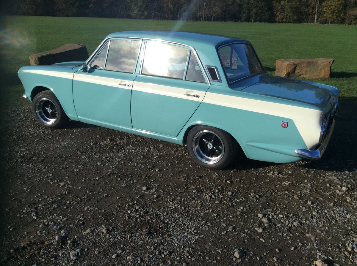 1966 Ford Cortina mk1 1500 GT SOLD (picture 1 of 6)