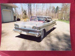 1959  GALAXIE FORD FAIRLANE 500 (Buffalo South Towns, NY)