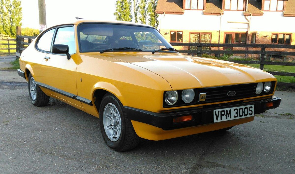 1978 FORD CAPRI 3.0 GHIA AUTO For Sale (picture 1 of 6)