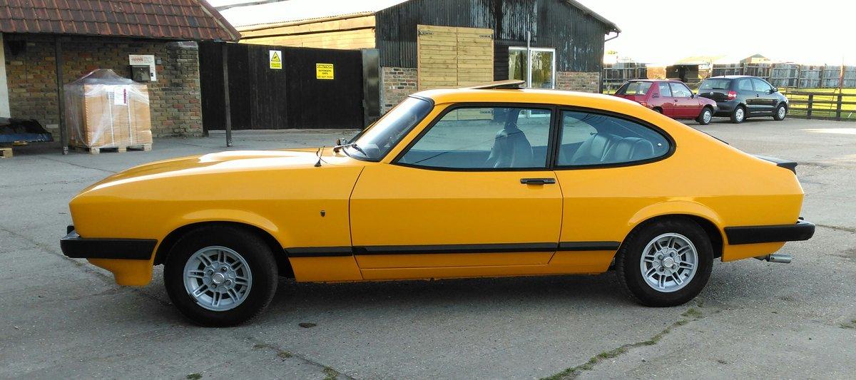 1978 FORD CAPRI 3.0 GHIA AUTO For Sale (picture 3 of 6)