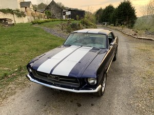 1967-Custom-Kona-Blue-351-W-Ford-Mustang-V8-Monst For Sale