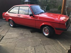 FORD ESCORT RS 2000 MK2, 1979 For Sale