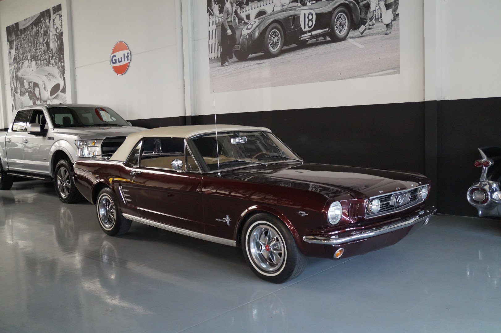 FORD MUSTANG 289 V8 Convertible (1966) Top condition! For Sale (picture 1 of 6)