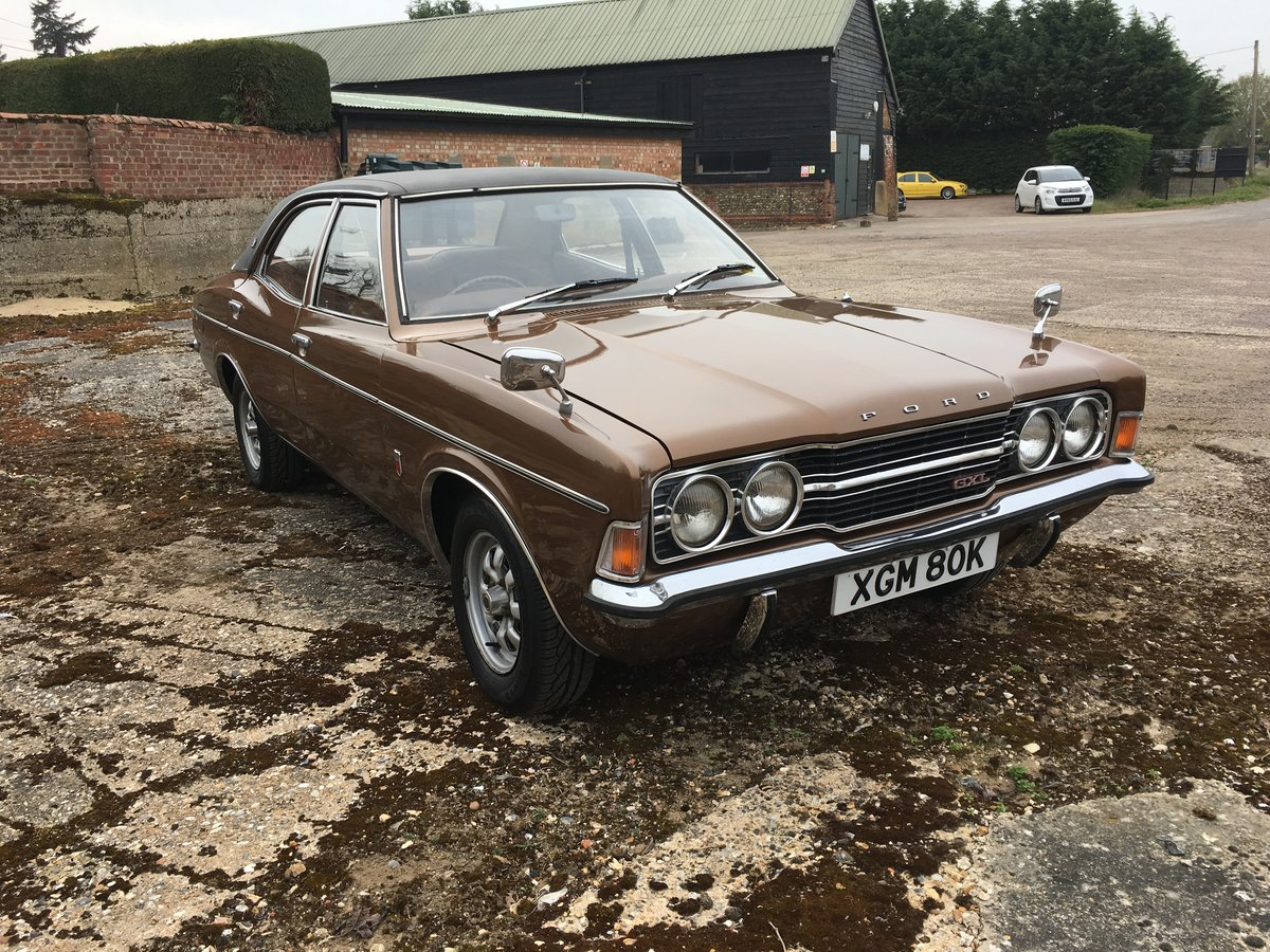 1972 Ford Cortina GXL For Sale (picture 1 of 6)