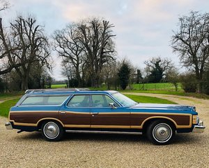 1977 Ford Country Squire Station Wagon