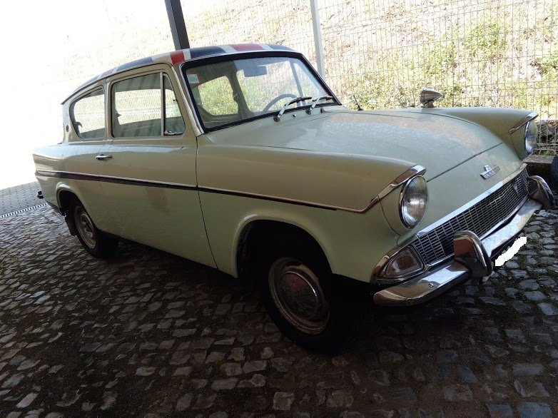 1962 FORD ANGLIA 123E For Sale (picture 1 of 6)