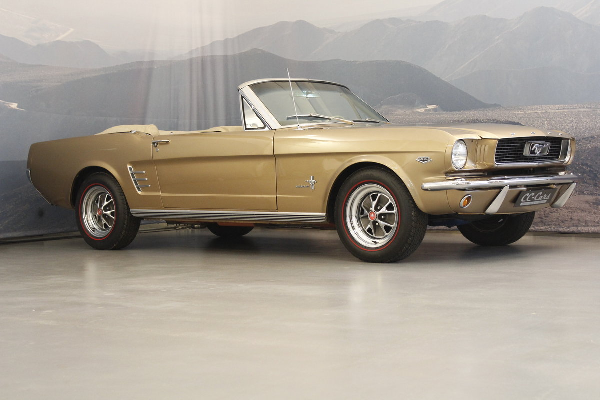 1966 Ford Mustang 4.7 289 Cui Convertible For Sale (picture 1 of 6)