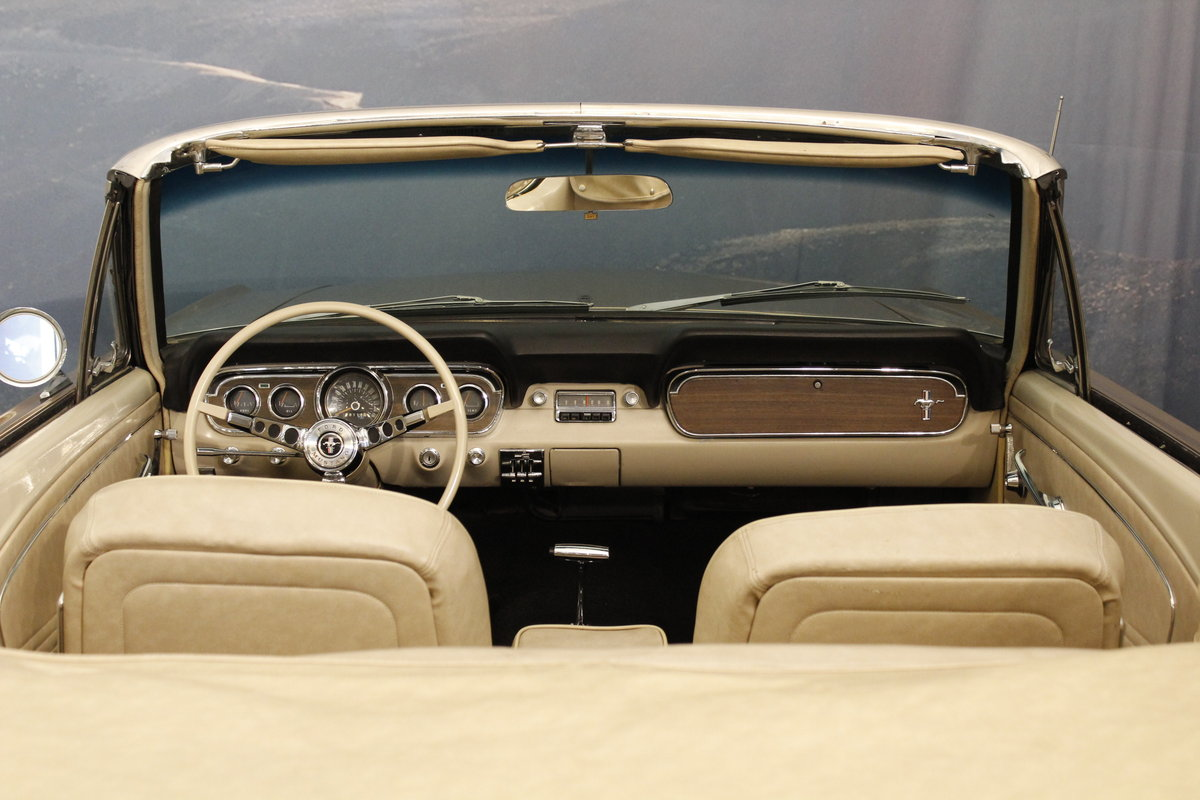 1966 Ford Mustang 4.7 289 Cui Convertible For Sale (picture 3 of 6)
