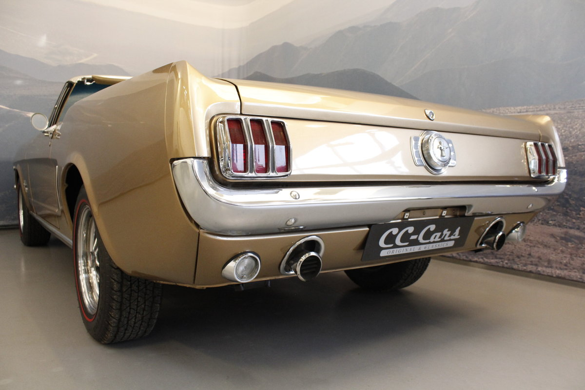 1966 Ford Mustang 4.7 289 Cui Convertible For Sale (picture 5 of 6)