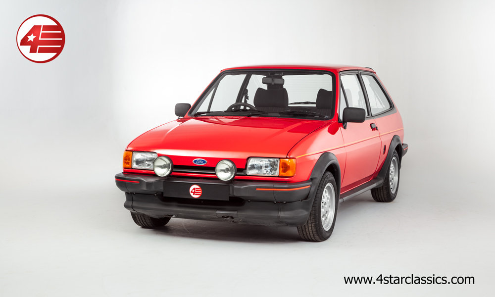 1984 Ford Fiesta XR2 Mk2 /// Very Original /// 92k Miles For Sale (picture 1 of 6)