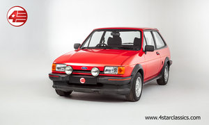 1984 Ford Fiesta XR2 Mk2 /// Very Original /// 92k Miles For Sale