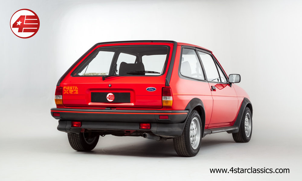 1984 Ford Fiesta XR2 Mk2 /// Very Original /// 92k Miles For Sale (picture 3 of 6)