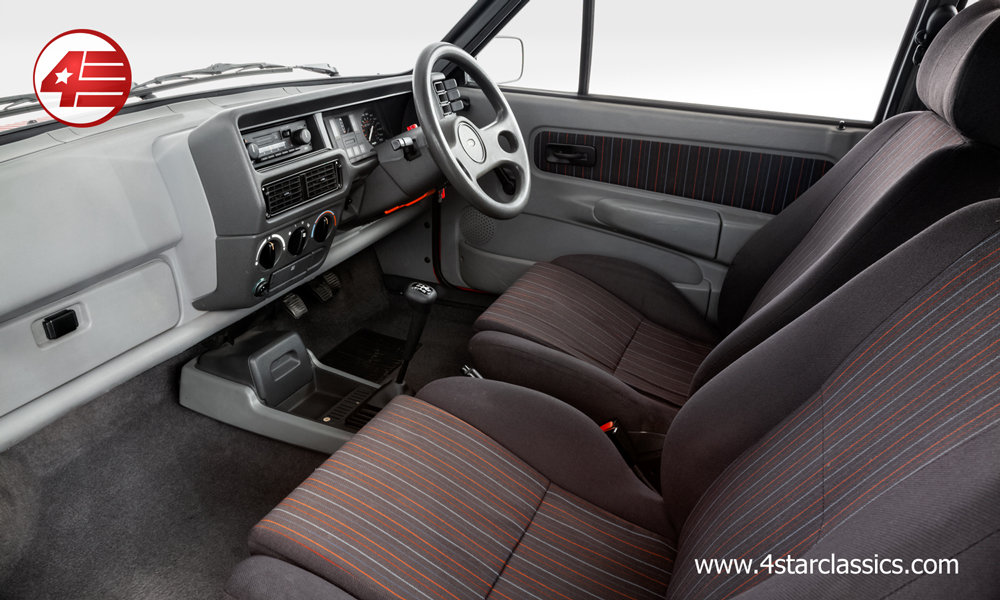 1984 Ford Fiesta XR2 Mk2 /// Very Original /// 92k Miles For Sale (picture 4 of 6)