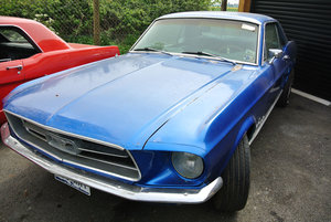 1967 Blue Ford Mustang V8 Auto PROJECT For Sale