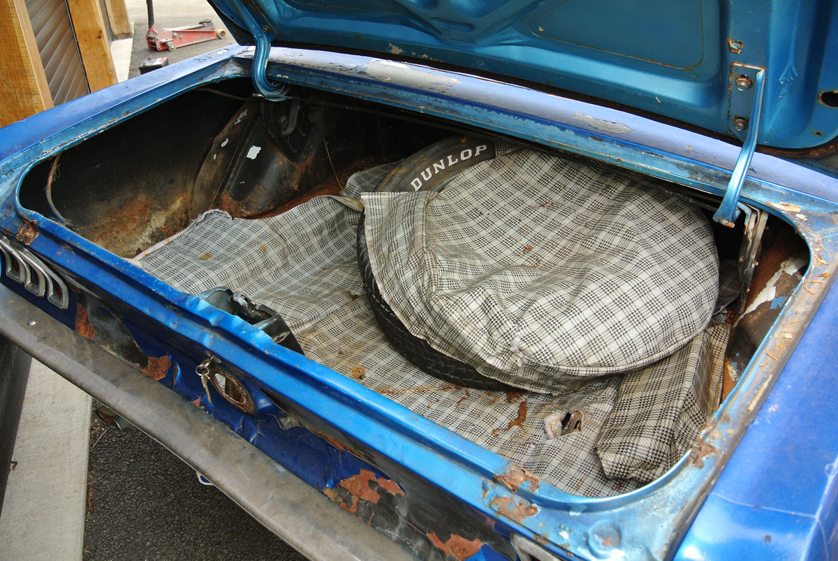 1967 Blue Ford Mustang V8 Auto PROJECT SOLD (picture 6 of 6)