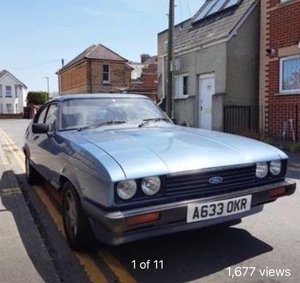 Ford Capri 1.6 LS 1984  (with 2.0Ltr Pinto Fitted) For Sale