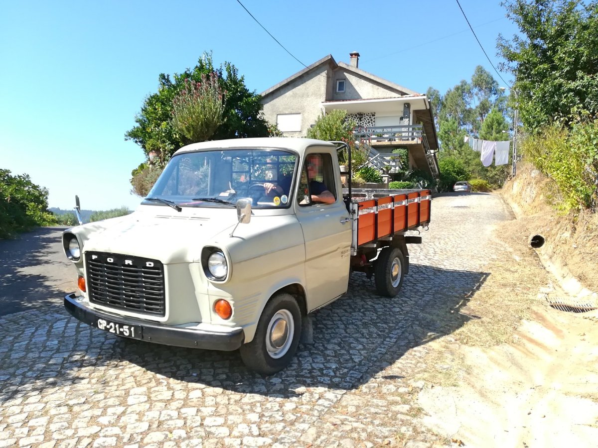 Ford Transit 100Y 1977  - 1 owner 1980-2018 For Sale (picture 1 of 6)