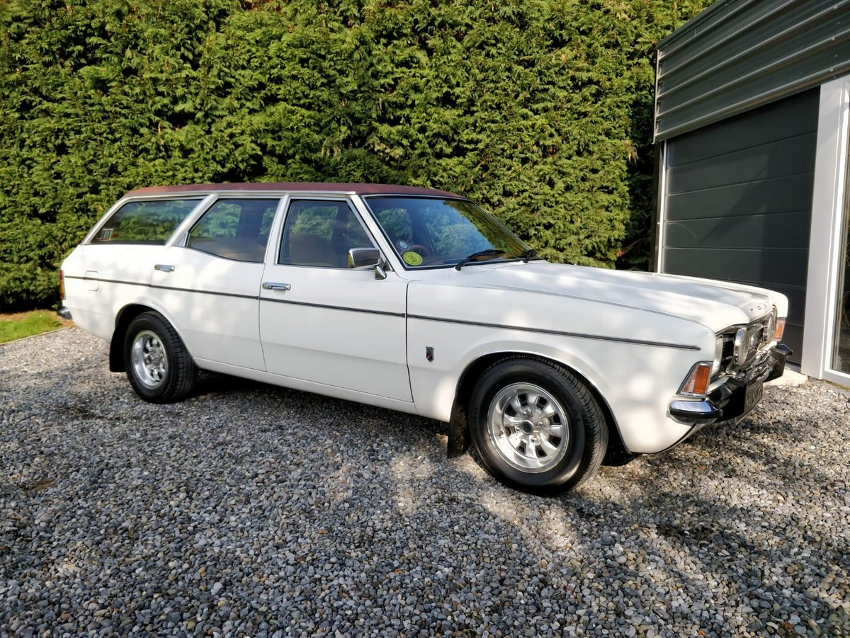 1973 Ford Cortina MK3 2000E Estate (rare) For Sale (picture 1 of 6)