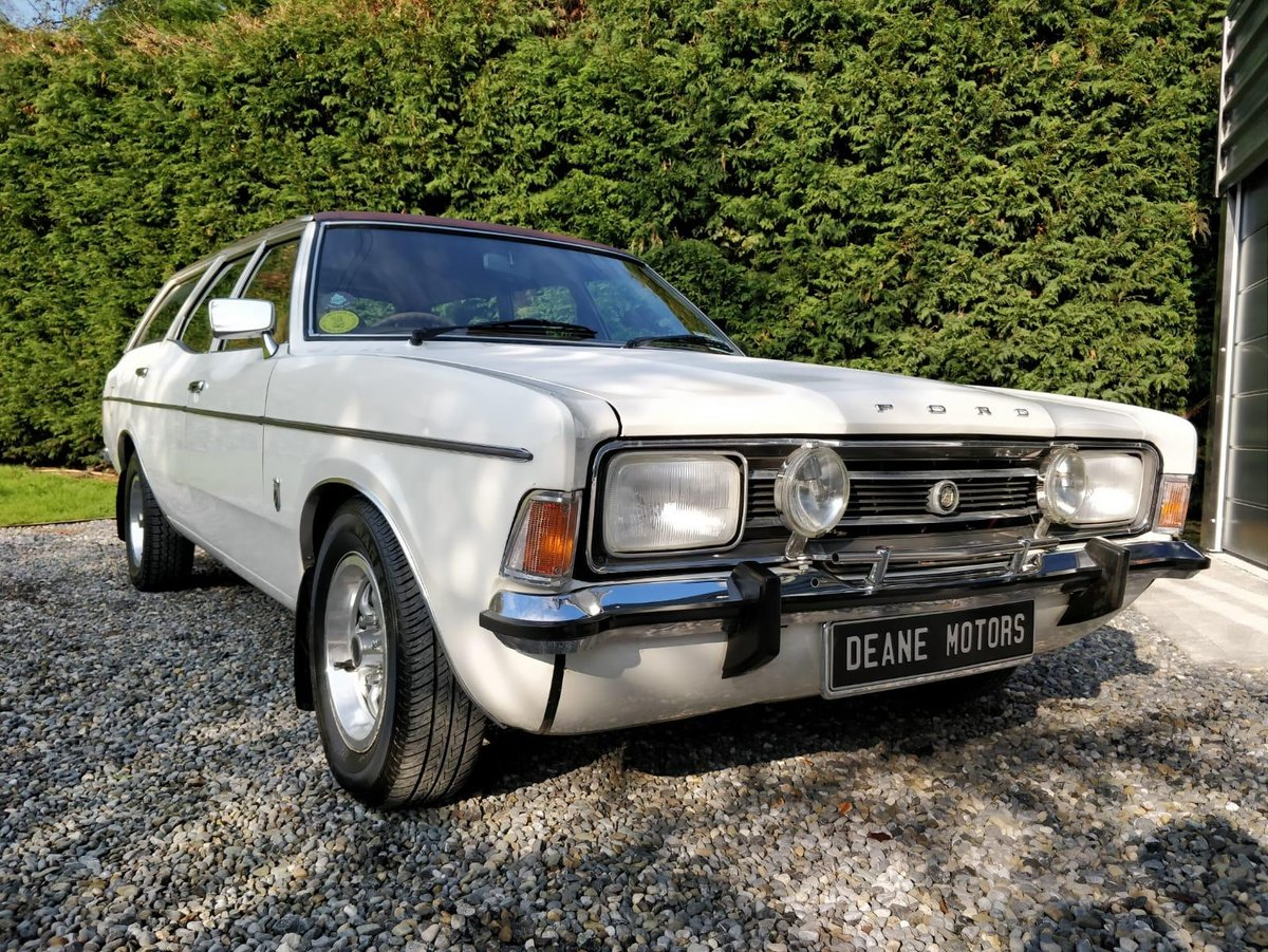 1973 Ford Cortina MK3 2000E Estate (rare) For Sale (picture 2 of 6)