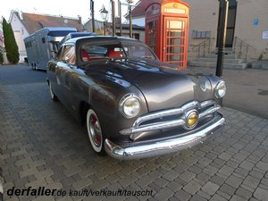 Ford 1950 Custom Deluxe Club Coupe ´Shoebox´ For Sale