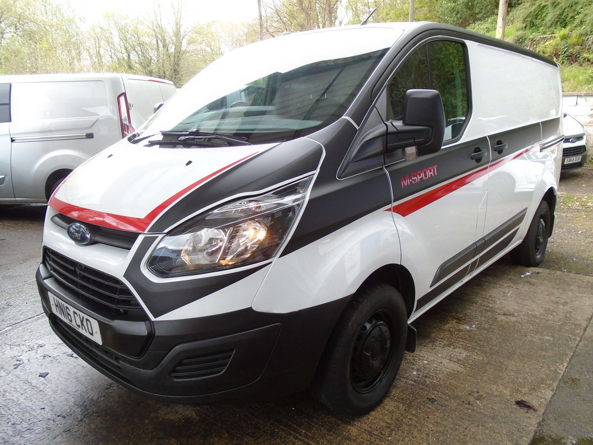 2016 Ford Transit Custom 2.2TDCi ( 100PS ) 290 M SPORT STYLE For Sale (picture 1 of 6)
