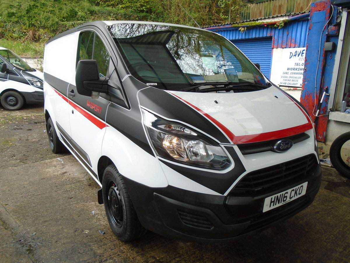 2016 Ford Transit Custom 2.2TDCi ( 100PS ) 290 M SPORT STYLE For Sale (picture 2 of 6)